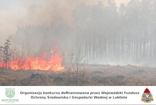 las w płomieniach